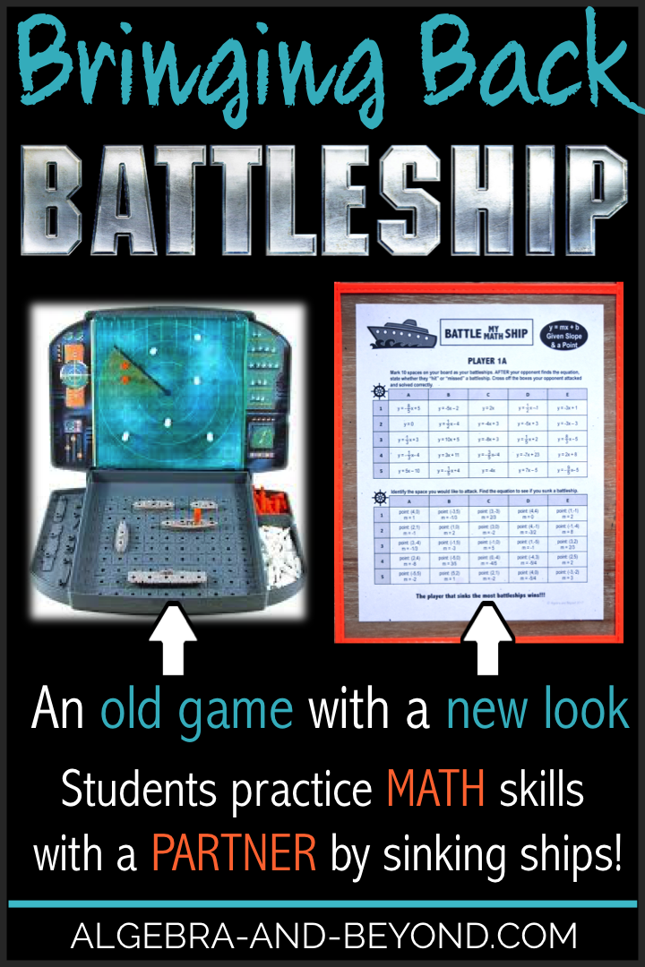 Battleship is a game we all loved growing up! Now you can bring that fun into the math classroom. Find out how by reading this blog post.