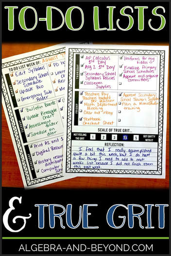 To Do Lists and True Grit - Free Template