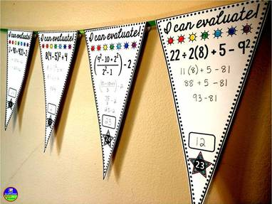 Bulletin Board Ideas for Math - ALGEBRA AND BEYOND