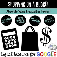 PictureREAL WORLD PROJECT on Absolute Value Inequalities for Algebra students! Integrates technology, shopping, math, and fun!